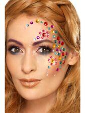 Make Up Fx Multicolore Gesichtssteine Auto-Adhésif Carnaval Accessoire Arc Bijou