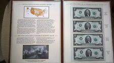 New listing Lot 12 Two Dollars Bills Complete Collection 1976 Pcs Booklet Uncirculated 20