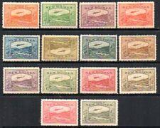 New Guinea: 1939 Bulolo Airmail set (14) SG 212-25 mint