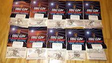 40-pack  lot 200 EAGLE CLAW LAZER SHARP TREBLE HOOKS SIZE 4 NICKEL