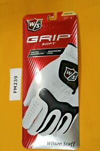 Wilson Staff Grip Soft Golf Glove Men's Left Hand (LH) Small (S) NEW   FM239