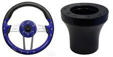 Club Car DS Aviator 4 Golf Cart Steering Wheel Kit (Blue)