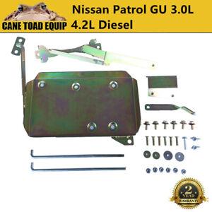Dual Battery Tray System fit Nissan Patrol 3.0L & 4.2L TDI GU Intercooled