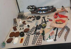 Lego Pirates Imperial Guards Set 6271 Imperial Flagship Parts Lot Sails Flags Pi