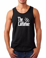 Tank Top The CatFather T-Shirt Cat Dad Pet Lover Gift Ideas Fathers Day Daddy