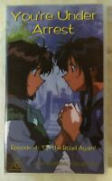 You're Under Arrest (Volume 4) VHS 1994 Anime OVA Kazuhiro Furuhashi Madman