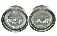 2 x MAYBELLINE COLOR TATTOO 24 HR  55 Immortal Charcoal