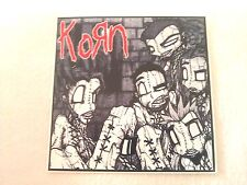 """KORN Issues 4""""x4"""" STICKER DECAL new old stock"""