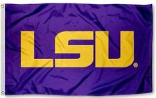 New Louisiana State Lsu Tigers Ncaa 3x5 Official Indoor/Outdoor Flag Banner