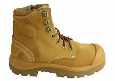 NEW STEEL BLUE MENS 332152 ARGYLE LACE UP WORK BOOT WITH ZIP AND BUMP CAP