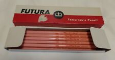 VINTAGE NIB NOS 11 RICHARD BEST FUTURA F MEDIUM THIN LEAD WOOD PENCILS, USA