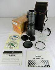1980s SIGMA AF TELEPHOTO 400MM 1:5.6 LENS, S/N 3013912, MINOLTA AF MOUNT