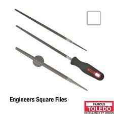 TOLEDO Square File Second Cut - 150mm 12 Pk 06SQ02BU x12
