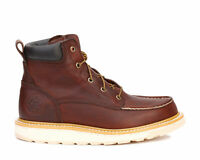 "New Irish Setter Men's 6"" Work Safety Toe Aluminum Boots Ashby Brown 83606"