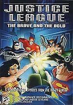 Justice League Vol 4 DVD VOLUME FOUR Animated TV Series - 4 Episodes - REGION 4