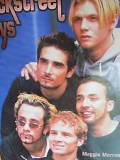 Backstreet Boys Book -Maggie Marron, Hardcover, 2000