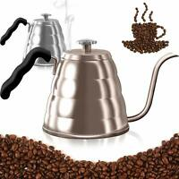 Dealz Frenzy Gooseneck Kettle-Pour Over Coffee Kettle with Thermometer,Stovetop