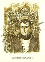 Napoleon Bonaparte Von Albert Decaris Gravur Auf Kupfer 52 CM 1952 31/33
