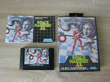 Space Harier II / 2 (complete / PAL) - Sega Mega Drive