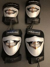 Harley Davidson Knee & Elbow Pad Set Childs Size Ages 3+