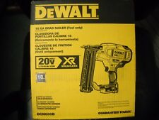 DEWALT DCN680B 20V MAX XR 18 Gauge Brad Nailer Tool Only NEW