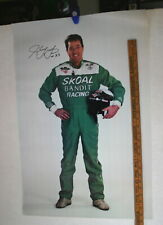 HARRY GANT SIGNED SKOAL BANDIT RACING NASCAR POSTER 20 X 32 COLOR