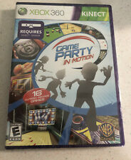 Game Party: In Motion - Xbox 360 Kinect NEW Factory Sealed