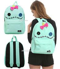 Loungefly Disney Lilo & Stitch Scrump Doll Backpack W/ Bow School Book Bag NEW