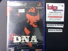 DNA DARK NATIVE APOSTLE PS2 PLAYSTATION 2 PAL NUOVO SIGILLATO