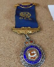 Vintage Masonic Certified Primo Solid Silver Badge