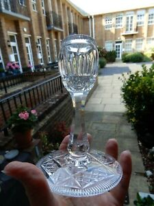 Stunning, 20th Century, High Quality Cut Crystal, Heavy,Table Candlestick Holder
