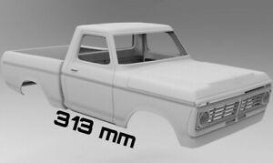 STL files body Ford f150 313 mm wheelbase 1974 Axial 3D printer