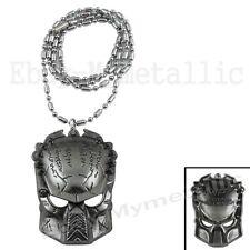 Movie AVP Alien vs Predator Predator Mask Metal Pendant Necklace 002