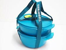 Tupperware 2 CrystalWave Microwave Bowls 4 Cup & 6 1/3 Cup with Holdall Strap