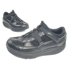 Skechers Womens Shape Ups Hydro Athletic Shoes Black 24864 Low Top Leather 7
