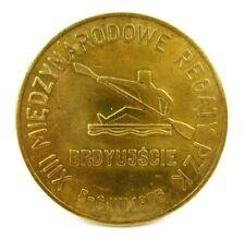 1975 Rowing Cup International Regatta, Bydgoszcz, Poland Participation Medal