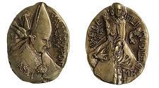 Medaglia Medal PAPA POPE Paolo Paulus VI° Anno VI In Fide Vivo   #MD4158