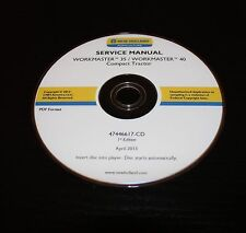 NEW HOLLAND WORKMASTER 35 40 COMPACT TRACTOR SERVICE MANUAL