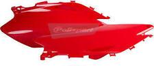 jeu de caches latéraux rouge  POLISPORT   HONDA CRF 450 R  2007-08