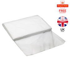 STANDARD (7 micrometers) Large Polythene Dust Sheet 4m x 5m Decorating Painting