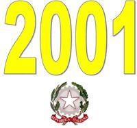 ITALIA Repubblica 2001 Singolo Annata Completa integri MNH ** Tutte le emissioni