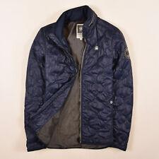G-Star Raw Herren Jacke Jacket Steppjacke Gr.S Edla Overshirt Blau 85281
