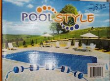 pool style . pool rope and float kit for up 20 ft pool