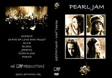 RARE PEARL JAM MTV UNPLUGGED CONCERT FROM 1992 VHS TRANSFER TO DVD