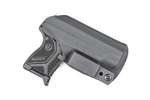 Badger State Holsters- Ruger LCP II IWB Tuckable Kydex Black Concealment