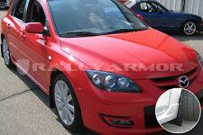 Rally Armor Basic Black Mud Flaps w/ Black Logo 04-09 Mazda 3 & Mazdaspeed 3