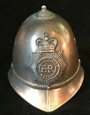 Vintage Copper British Bobby Hat Bell England Metropollitan Commemorative