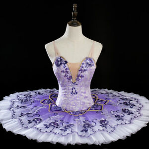 Lilac Fairy Classical Ballet Tutu for Professional Dance Competition