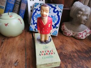 Vintage Archie Andrews Novelty Soap By Cussons with Original Box Red Jacket