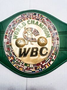 Roberto Duran & Thomas Hearns Duel Auto Signed WBC World Champion Belt COA